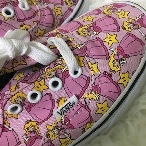 677bc912d15a5e Vans Shoes - NEW Vans Canvas Nintendo Lace Up Low Top Sneakers